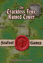 Seafoot Games - The Ruined Tower of Trackless Fens (40x40 Battlemap)