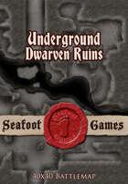 Seafoot Games - Underground Dwarven Ruins (40x40 Battlemap)