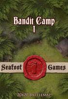 Seafoot Games - Bandit Camp I (20x20 Battlemap)