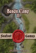 Seafoot Games - Bandit Camp II (20x20 Battlemap)