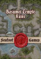 Seafoot Games – Ruins of Basumot Temple (40x40 Battlemap)