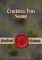 Seafoot Games - Trackless Fens Swamp (20x30 Battlemap)