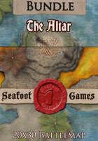 Seafoot Games - The Altar | 20x30 Battlemap [BUNDLE]