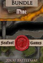 Seafoot Games - Mine | 20x30 Battlemap [BUNDLE]