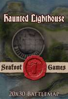 Seafoot Games - Haunted Lighthouse   20x30 Battlemap