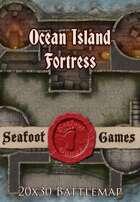 Seafoot Games - Ocean Island Fortress   20x30 Battlemap