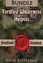 Seafoot Games - Fortified Outpost | 20x30 Battlemap [BUNDLE]