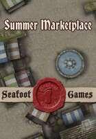 Seafoot Games - Summer Marketplace | 20x30 Battlemap