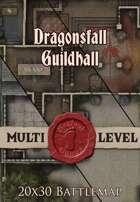Seafoot Games - Dragonsfall Guildhall | 20x30 Battlemap