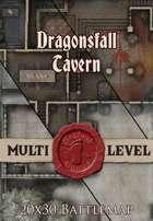 Seafoot Games - Dragonsfall Tavern | 20x30 Battlemap
