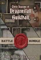 Seafoot Games - Seasons of Dragonsfall |20x30 Battlemap [BUNDLE]