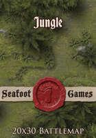 Seafoot Games - Jungle   20x30 Battlemap