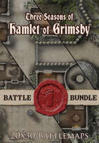 Seafoot Games - Seasons of Grimsby | 20x30 Battlemap [BUNDLE]
