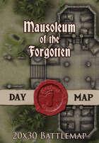 Seafoot Games - Mausoleum of the Forgotten | 20x30 Battlemap