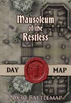 Seafoot Games - Mausoleum of the Restless | 20x30 Battlemap