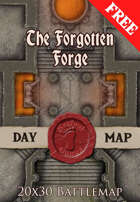 Seafoot Games - The Forgotten Forge | 20x30 Battlemap