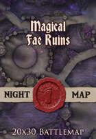 Seafoot Games - Magical Fae Ruins   20x30 Battlemap