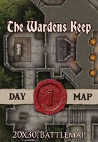 Seafoot Games - The Wardens Keep   20x30 Battlemap