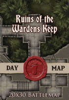 Seafoot Games - Ruins of the Wardens Keep | 20x30 Battlemap