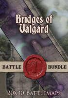 Bridges of Valgard | 20x30 Battlemaps [BUNDLE]