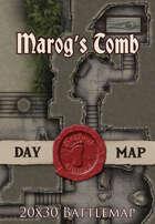 Seafoot Games - Marog's Tomb | 20x30 Battlemap