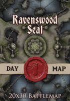Seafoot Games - Ravenswood Seal | 20x30 Battlemap