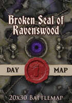 Seafoot Games - Broken Seal of Ravenswood | 20x30 Battlemap