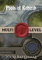 Seafoot Games - Pools of Rebirth | 20x30 Battlemap