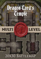 Seafoot Games - Dragon Lord's Temple | 20x30 Battlemap