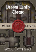 Seafoot Games - Dragon Lord's Throne | 20x30 Battlemap