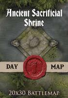 Seafoot Games - Ancient Sacrificial Shrine | 20x30 Battlemap