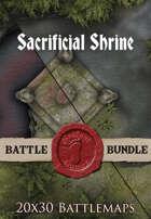 Sacrificial Shrine | 20x30 Battlemap [BUNDLE]