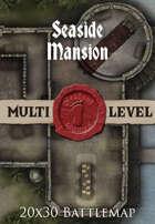 Seafoot Games - Seaside Mansion | 20x30 Battlemap