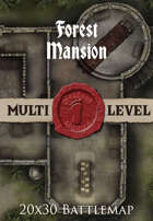 Seafoot Games - Forest Mansion | 20x30 Battlemap