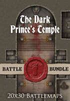 Seafoot Games - The Dark Prince's Temple | 40x30 Battlemap