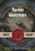 Seafoot Games - Ancient Waterways | 20x30 Battlemap