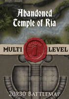 Seafoot Games - Abandoned Temple of Ria | 20x30 Battlemap