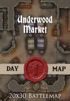 Seafoot Games - Underwood Market | 20x30 Battlemap