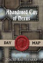Seafoot Games - Abandoned City of Nexus | 20x30 Battlemap