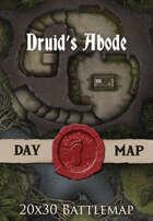 Seafoot Games - Druid's Abode | 20x30 Battlemap
