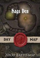 Seafoot Games - Hags Den | 20x30 Battlemap