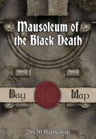 Seafoot Games - Mausoleum of the Black Death | 20x30 Battlemap