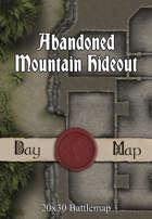 Seafoot Games - Abandoned Mountain Hideout   20x30 Battlemap
