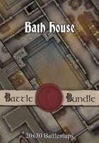 Bath House | 20x30 Battlemaps [BUNDLE]