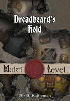 Seafoot Games - Dreadbeard's Hold  | 20x30 Battlemap