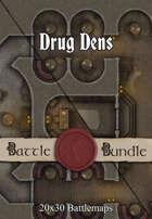 Drug Dens | 20x30 Battlemaps [BUNDLE]