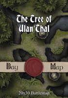 Seafoot Games - The Tree of Ulan'Thal   20x30 Battlemap