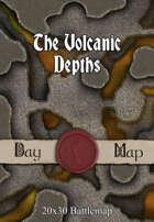 Seafoot Games - The Volcanic Depths   20x30 Battlemap