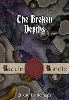 The Broken Depths | 20x30 Battlemaps [BUNDLE]