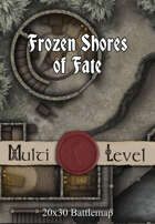 30x20 Multi-Level Battlemap - Frozen Shores of Fate